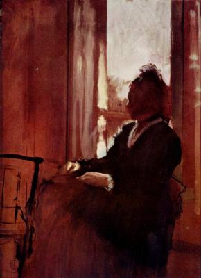 Эдгар Дега. Женщина у окна
