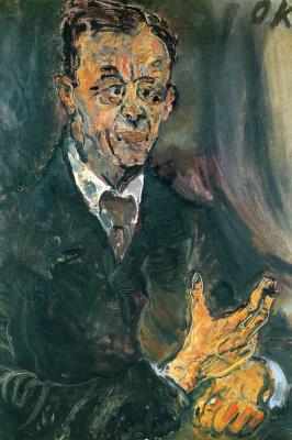 Oskar Kokoschka. Emile Levenbach