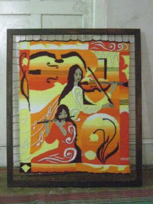 Olga Suncheleeva. Music (tapestry)