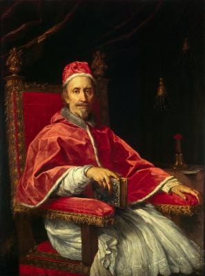 Маратти, Карло. Портрет папы Климента IX
