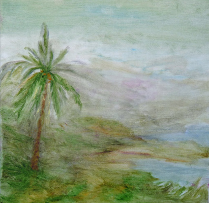 "Rita Arkadievna Beckman. ""And dream about her all that in the desert far away, alone and sad on a cliff covered beautiful palm tree grows."" (M. Lermontov)"