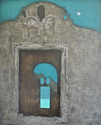 Феодосий Николаевич Северин. Серия пейзажей с пещерными монастырями Крыма