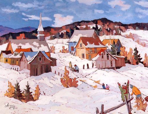Клод Ланжевен. Радость зимы