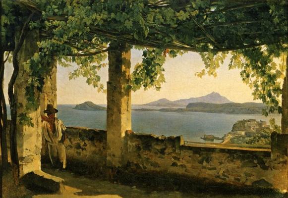 Sylvester Feodosievich Shchedrin. Terrace in Pozzuoli