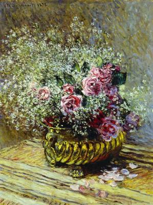 Клод Моне. Цветы в горшке