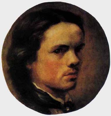 Александр Егорович Бейдерман. Автопортрет
