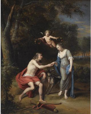 Ян Ван Нек. Венера и Адонис