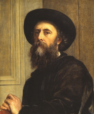 Джордж Фредерик Уоттс. Автопортрет. 1864
