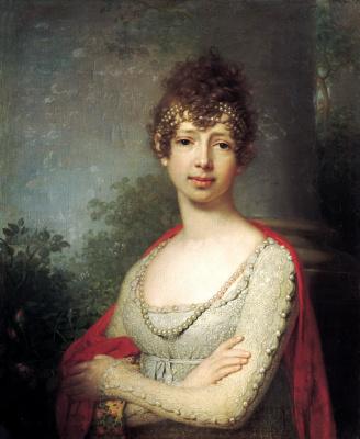 Vladimir Lukich Borovikovsky. Portrait of Grand Duchess Maria Pavlovna