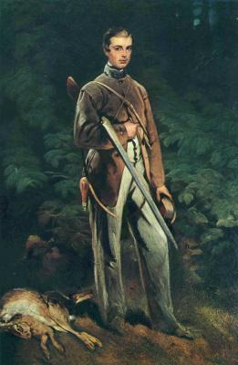 Луи Фердинанд фон Райски. Портрет Макса фон Фабриче