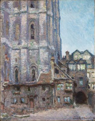 Claude Monet. La Cour d'Albane