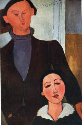 Амедео Модильяни. Мужчина и женщина в черном