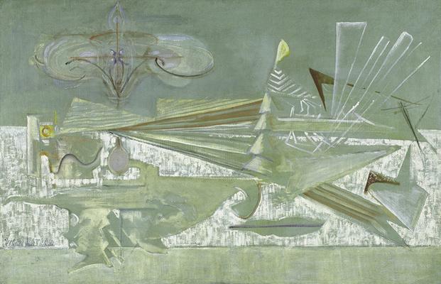 Rothko Mark. Agitation of the archaic