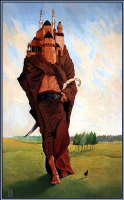 Уэйн Дуглас Барлоу. Замок на ногах