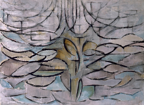 Piet Mondrian. Blooming Apple tree