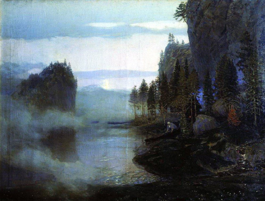 Apollinarius Mikhailovich Vasnetsov. Ballad