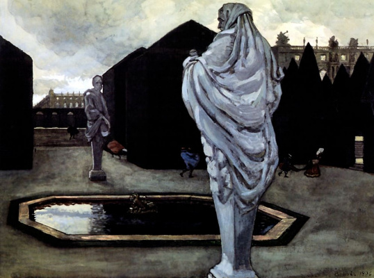 Alexander Nikolaevich Benoit. Fantasy on a Versailles theme