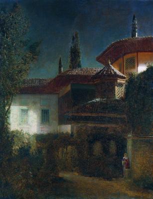 Gabriel Pavlovich Kondratenko. Night in Bakhchisarai