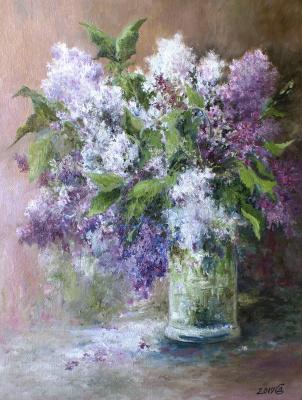 Сергей Владимирович Дорофеев. Lilac bouquet