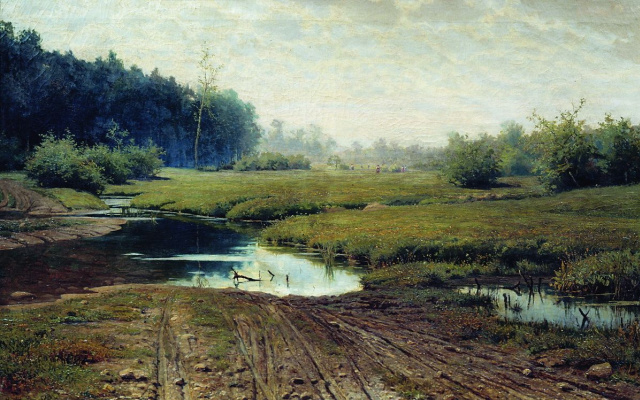Efim Efimovich Volkov. Summer day after rain