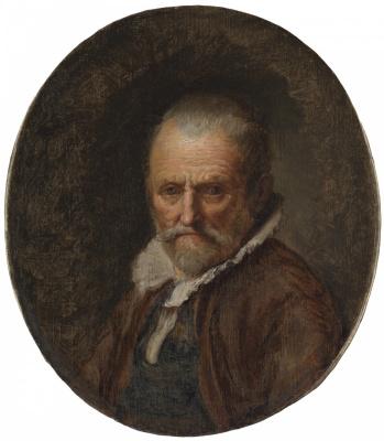 Gerrit (Gerard) Dow. Bust of an old man