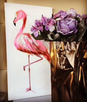 Elena Sergeevna Usanina. Flamingo