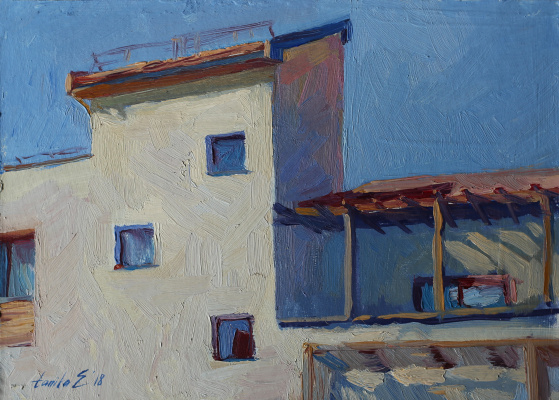 Tanika Yezhova. Blue sky
