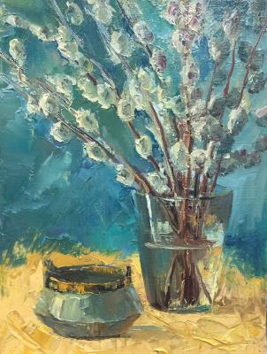 Marina Baranovskaya Anatolyevna. Palm Sunday