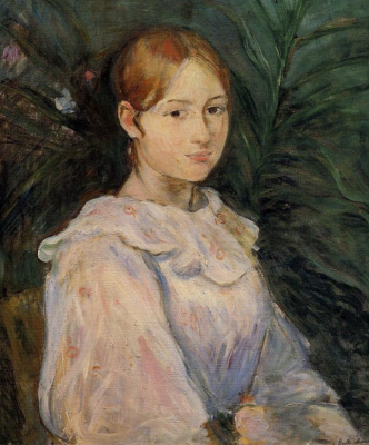 Berthe Morisot. Portrait Of Alice Gambi