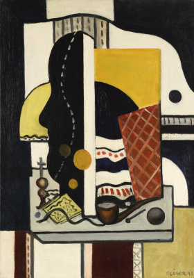 Fernand Leger. Still life with a pipe