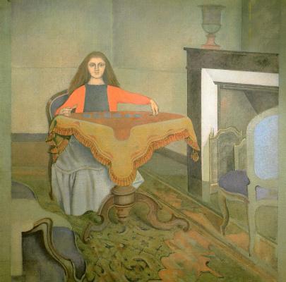 Balthus (Balthasar Klossovsky de Rola). Young fortune teller