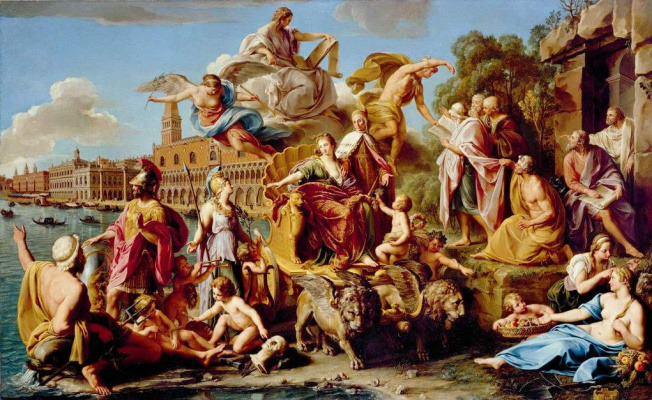 Pompeo Girolamo Batoni. The Triumph Of Venice