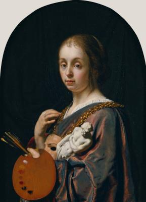 Франц ван Мирис Старший. Аллегория Живописи