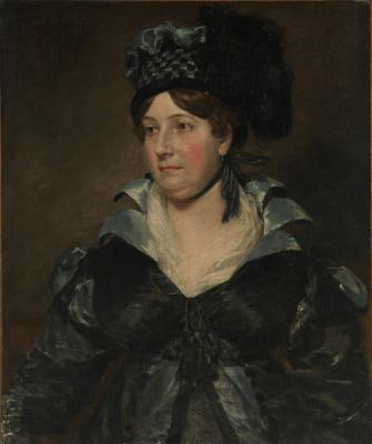 John Constable. Mrs. James