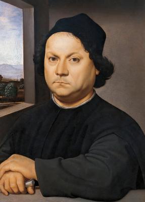 Рафаэль Санти. Портрет Перуджино