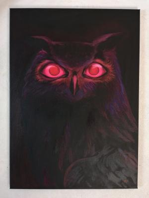 Lubov Harlanova. Owl