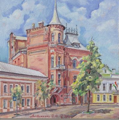 Oleg Mikhailovich Litvinenko. Baron's castle. Kiev