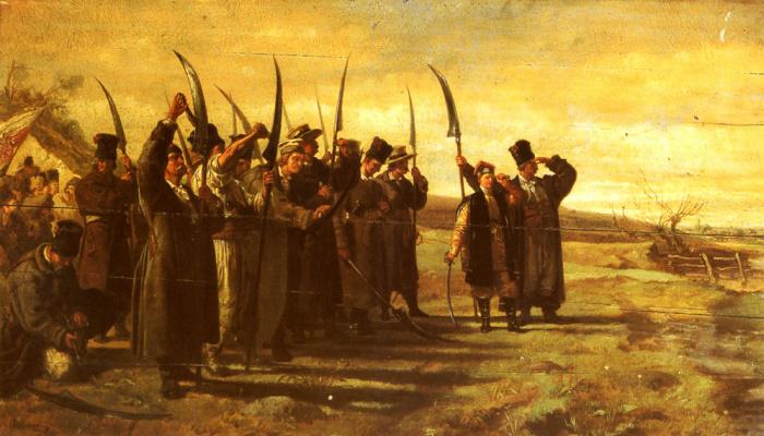 Станислав Члебовски. Польские повстанцы