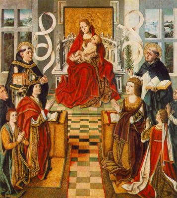 Fernando Gallego. Madonna of the Catholic kings