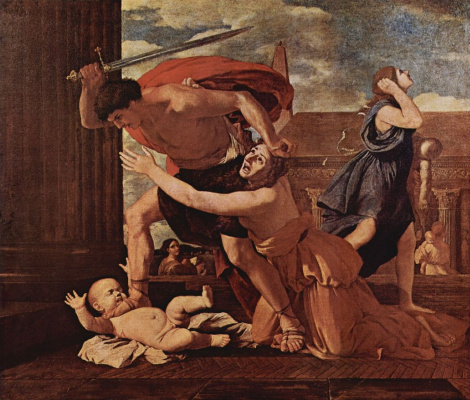 Nicola Poussin. The massacre of the innocents
