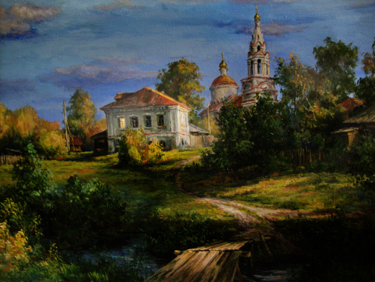 Victor Vladimirovich Kuryanov. The last rays