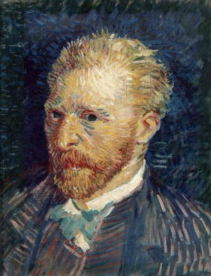 Vincent van Gogh. Self-portrait