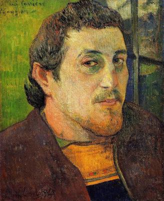Paul Gauguin. Self-Portrait Dedicated to Carrière