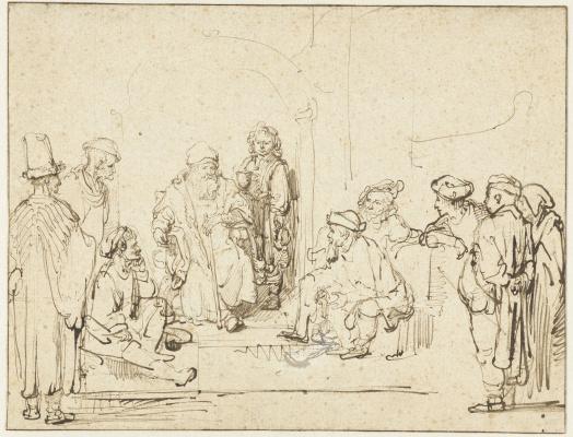 Рембрандт Харменс ван Рейн. Иаков и его сыновья