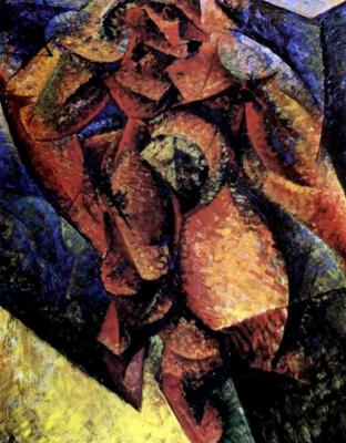 Umberto Boccioni. Plot 10