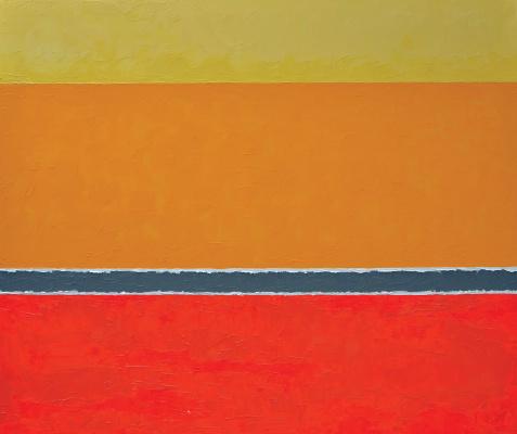 "Konstantin Rogotchenko. ""Heat"" from the ""Morphology of the Line"" series"