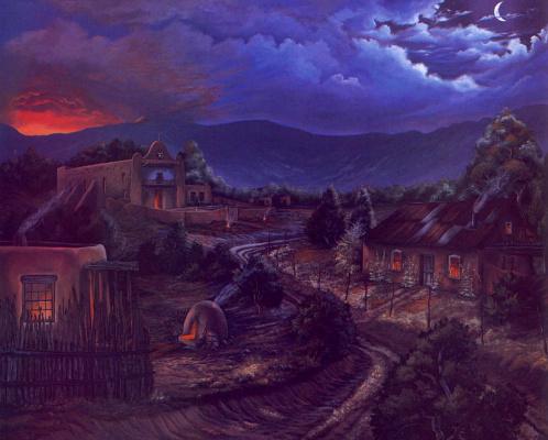 Кристина Спиритоф. Деревня