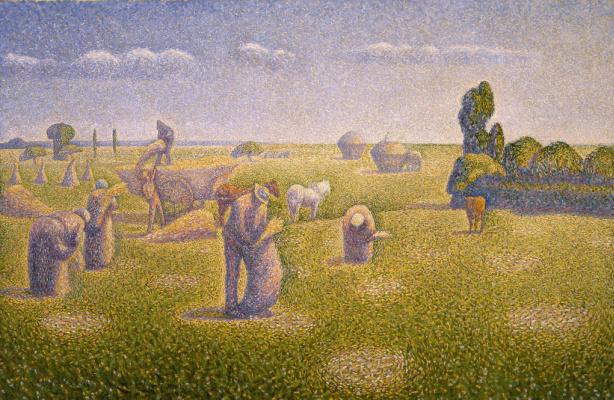 Шарль Ангран. Сбор урожая