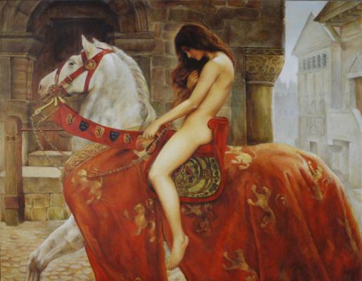 Мария Иванова. Леди Годива (копия)