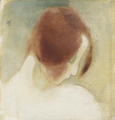 Helena Sophia Scherfbek. Redheaded girl